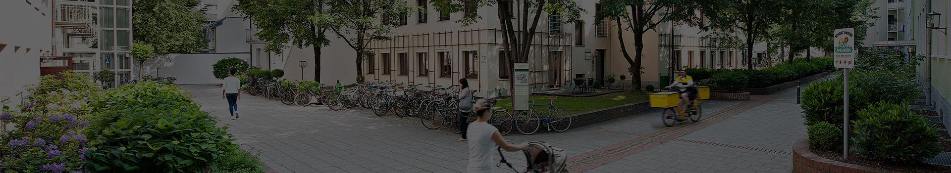 Innenhof des Cityparks