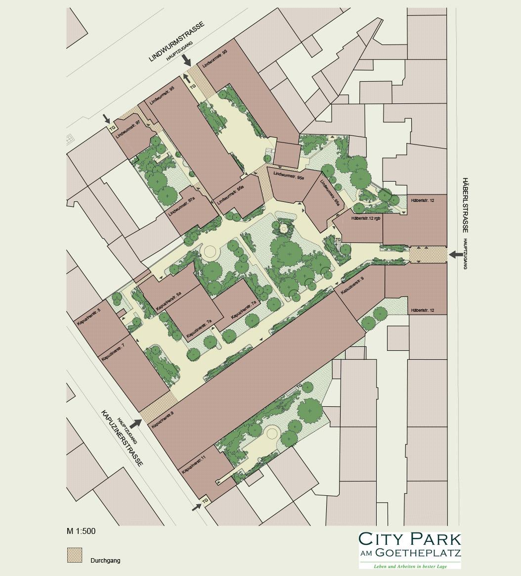 Anlagenplan Citypark